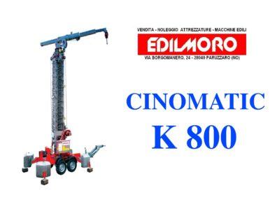 Cinomatic K800