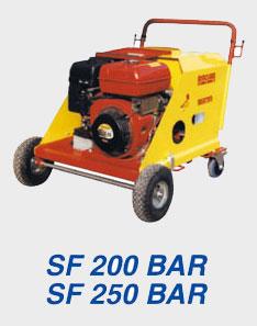 idrosabbiatrice cinomatic-sf250
